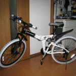 DOPPELGANGER ドッペルギャンガー 703 LaidBack 26インチ折畳自転車