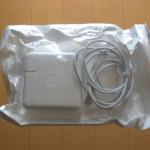 Apple MagSafe電源アダプタ:バルク品と製品版の比較、違い等 (85W MC556J/A, MC556J/B, A1343)