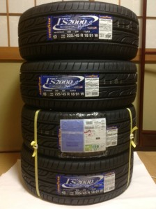 GOODYEAR EAGLE LS2000 HybridⅡ 到着