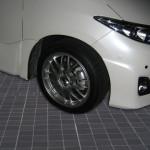 ESTIMA(ACR50W)|<br>純正ホイール&タイヤ→BBS RG-Rに交換