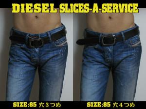 DIESEL ベルト SLICES-A- SERVICE