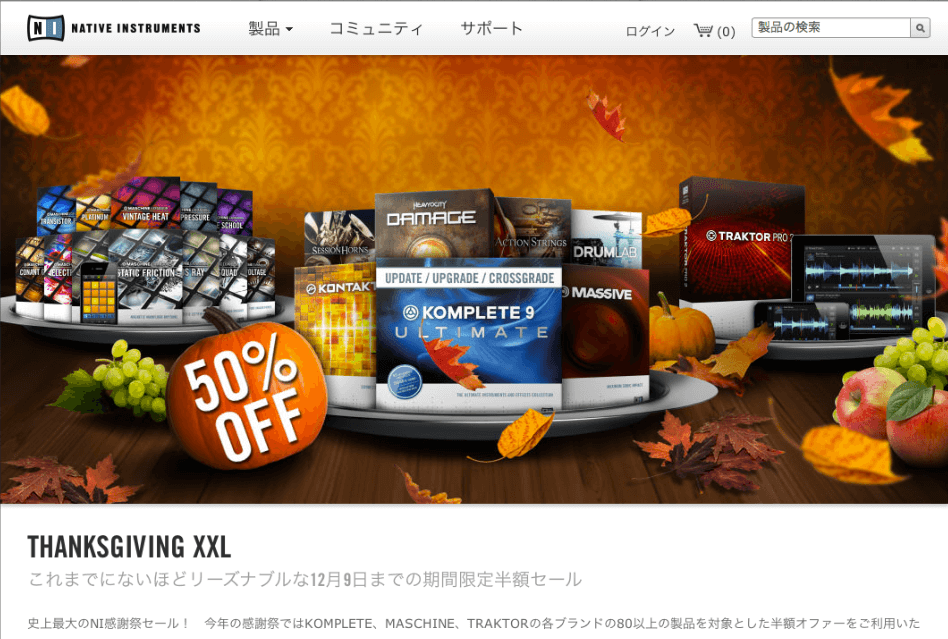 Native Instruments Sale1