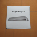 Magic Trackpad(MC380J/A)の電池、どれくらいもつの?