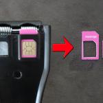 SIMカッター購入!標準SIM→MicroSim へカット!勿論成功!!
