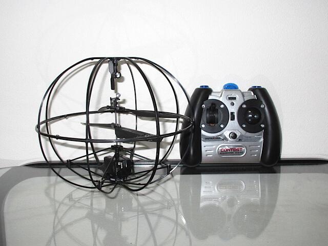 球体ドローン『ROBOTIC UFO』