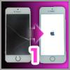 iPhoneの割れた画面(フロントガラス、タッチパネル)をDIYで交換する方法:その1 フロントパネルを外す
