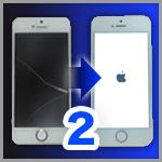 iPhoneの割れた画面(フロントガラス、タッチパネル)をDIYで交換する方法:その2 フロントパネルから部品を外す