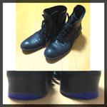 擦り減った靴底の修理DIY 第三弾!:ブーツ編