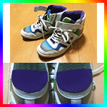 擦り減った靴底の修理DIY 第四弾!:スニーカー編2