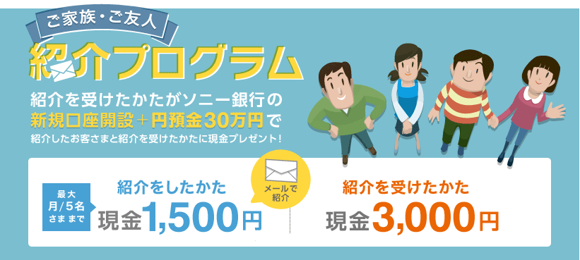 SonyBank口座開設で3000円ゲットする!02
