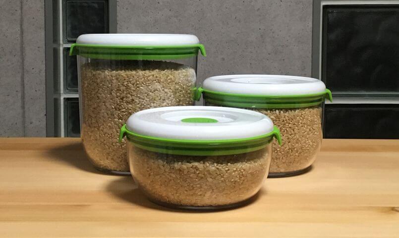 FOSAで玄米保存!