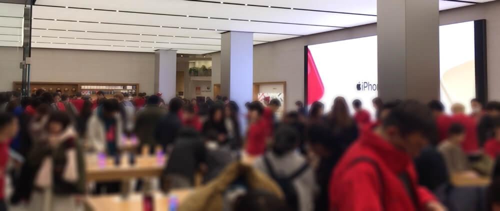 AppleStore新宿