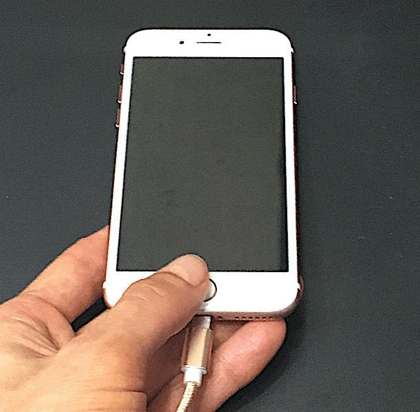 『iPhoneは使用できません』からの復活!ここ大事!最初の接続