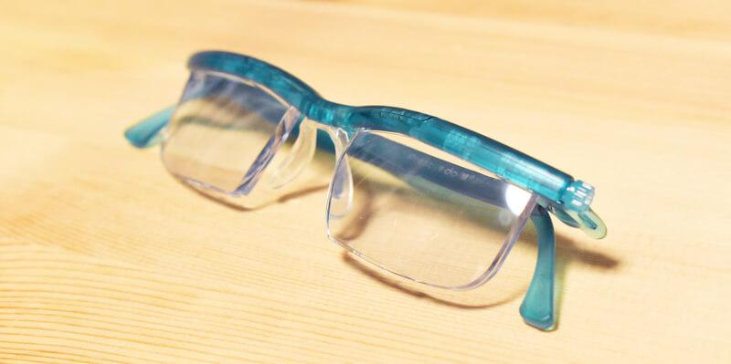 調整ができる老眼鏡『ドゥーアクティブ』
